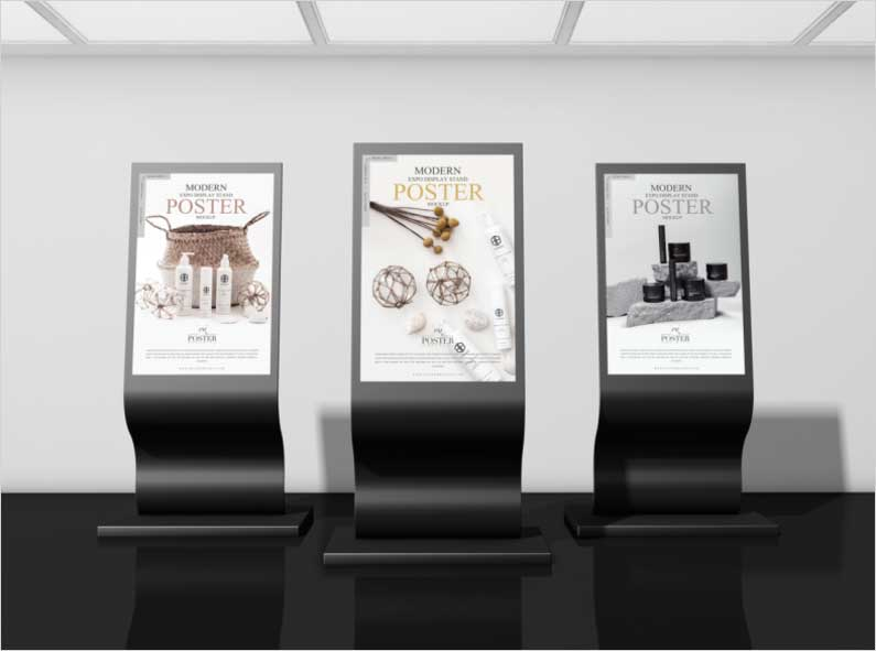 Modern-Expo-Display-Stand-Poster-Mockup