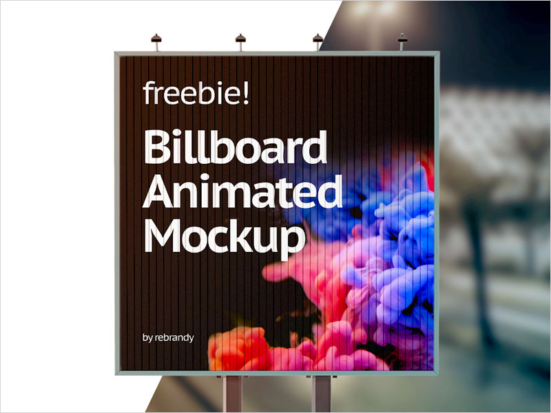 Billboard-Animated-Mockup
