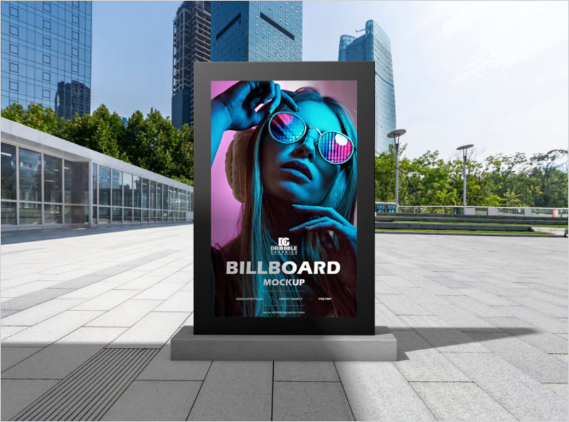 Free-Office-Billboard-Mockup-For-Advertisement