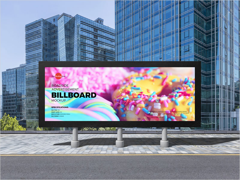 Free-Roadside-Billboard-Mockup