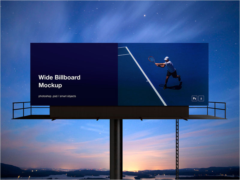Wide-Billboard-Mockup