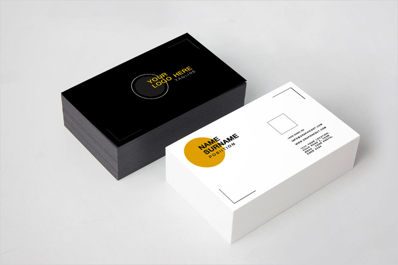 Black-and-White-Business-Card