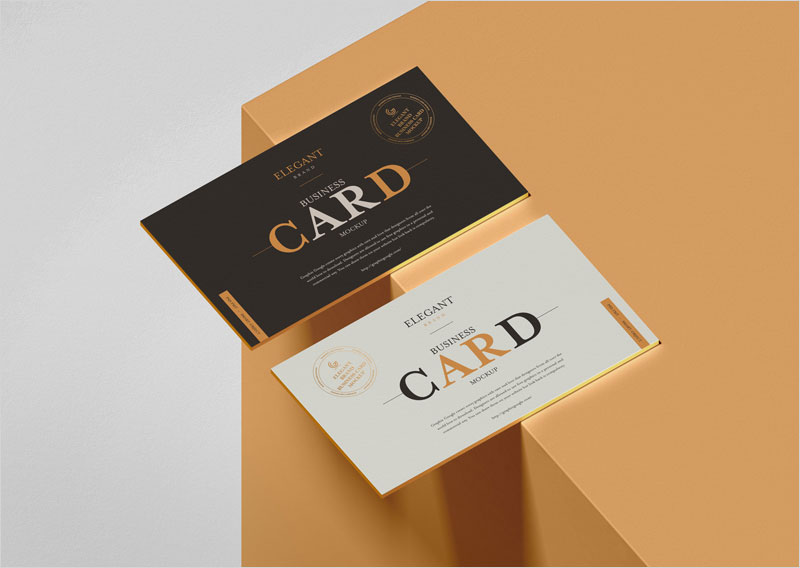 Free-Brand-Business-Card-Mockup