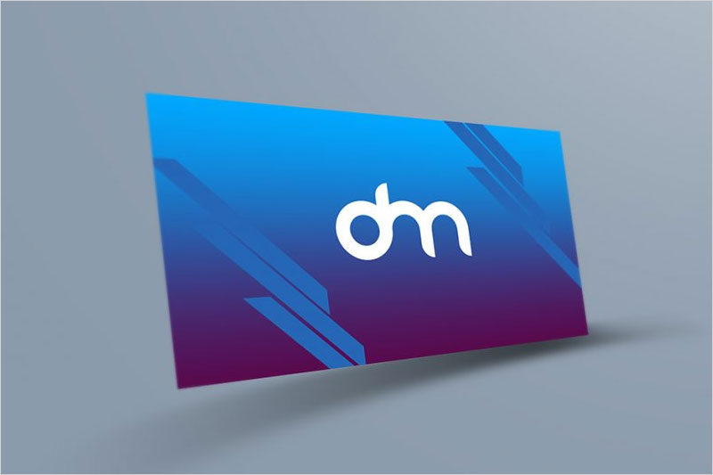 Free-Floating-Business-Card-Mockup-Template