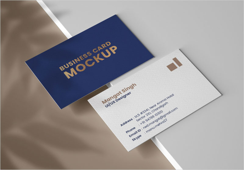 Personal-Business-Card-Free-Mockup
