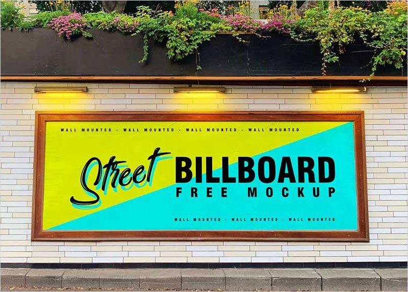 Free-Street-Wall-Billboard-Mockup