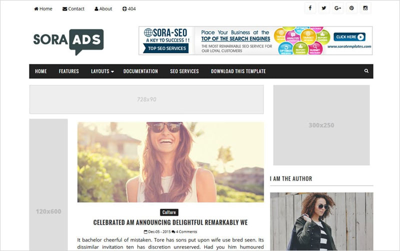 Ads-Responsive-Blogger-Template