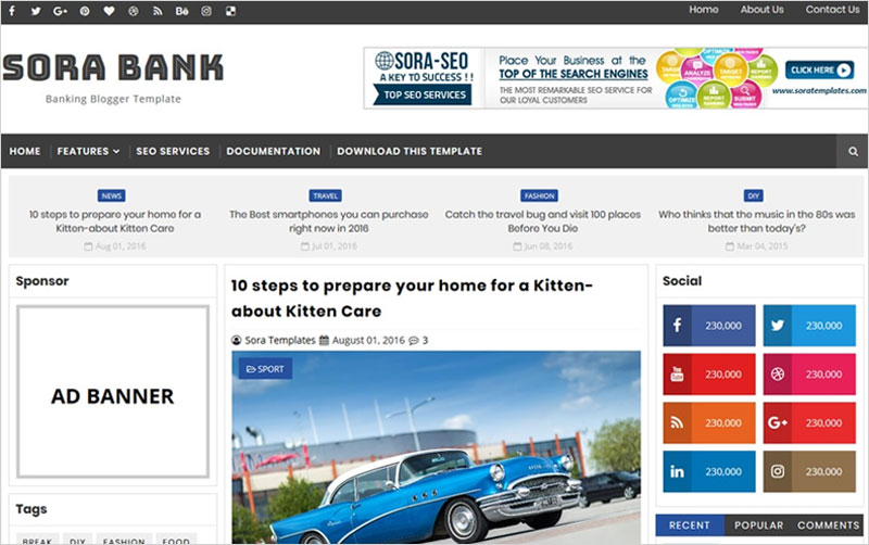 Banking-Blogger-Template