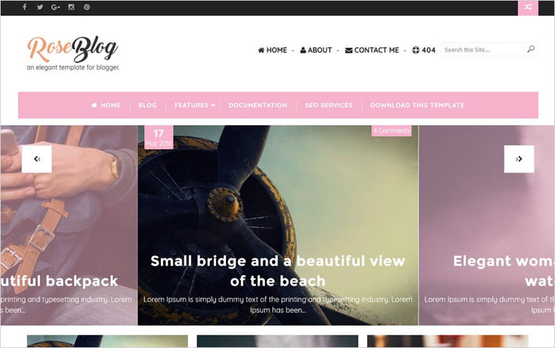 Blog-Responsive-Blogger-Template