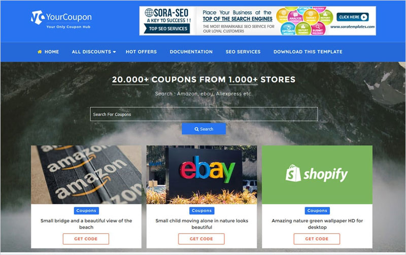 Coupon-Responsive-Blogger-Template