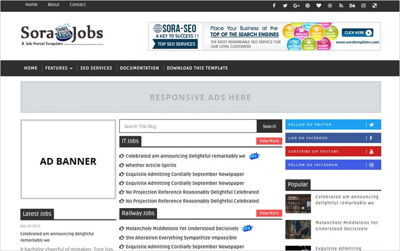 Jobs-Responsive-Blogger-Template