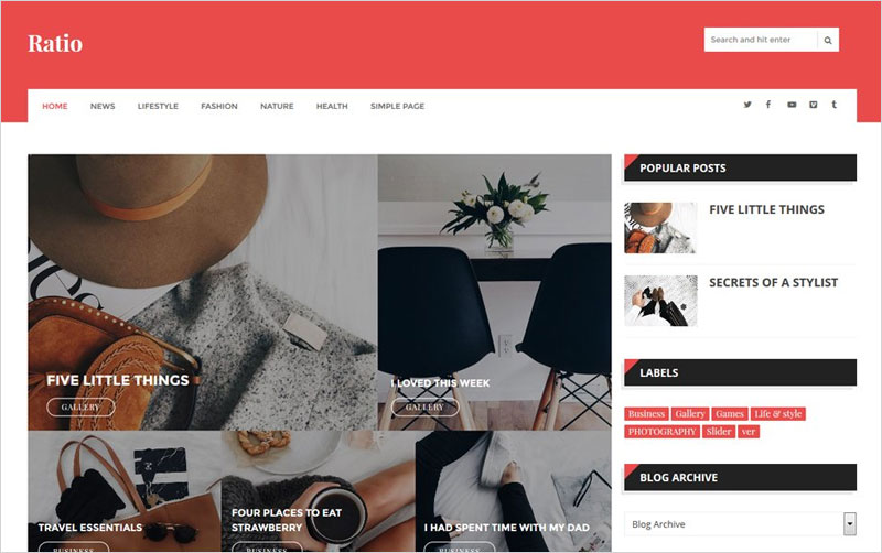 Ratio-Responsive-Blogger-Template