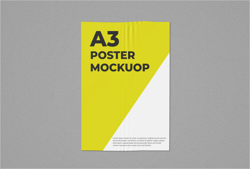 Free-A3-Poster-Mockup
