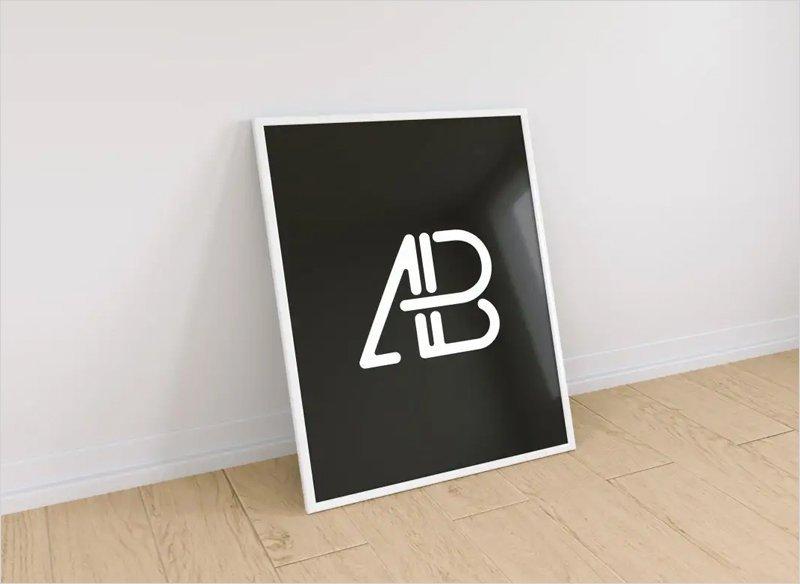 Free-Poster-Frame-Wall-Mockup