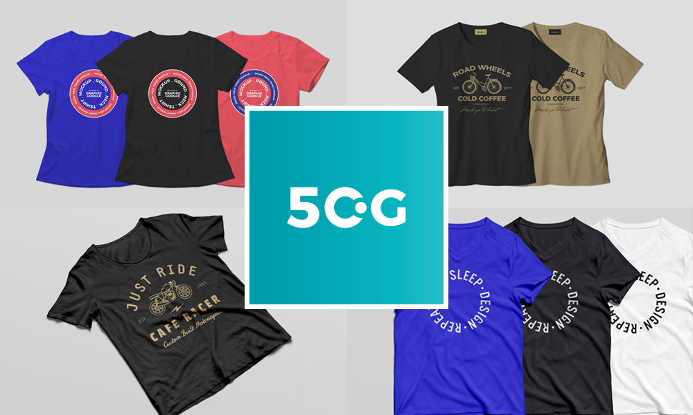 50-Newest-Free-T-Shirt-Mockup-PSD-Resources-For-2018