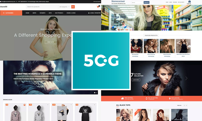 50 Best Free WordPress eCommerce themes For 2018