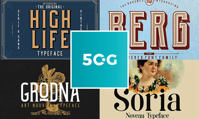 50-Most-Exceptional-Free-Fonts-Collection-of-2018