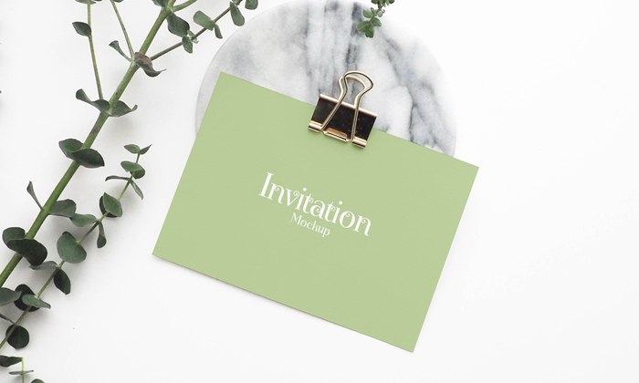 Free psd invitation mockup 2018 stopboris Image collections