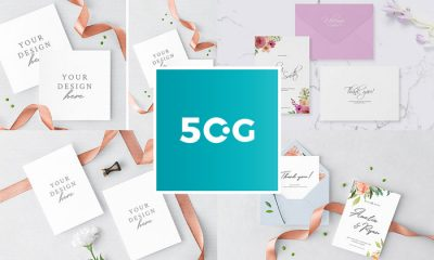 Free psd invitation mockup 2018 50 lovely invitation greeting card mockups for all professional designers stopboris Image collections