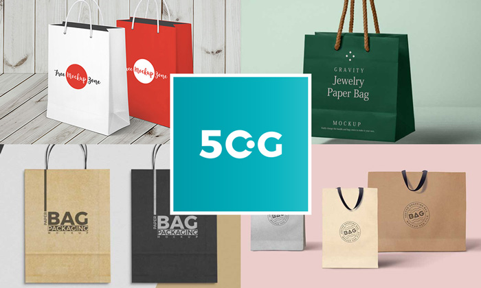 50-Free-Best-Shopping-Paper-Bag-Mockups-For-All-Professional-Designers