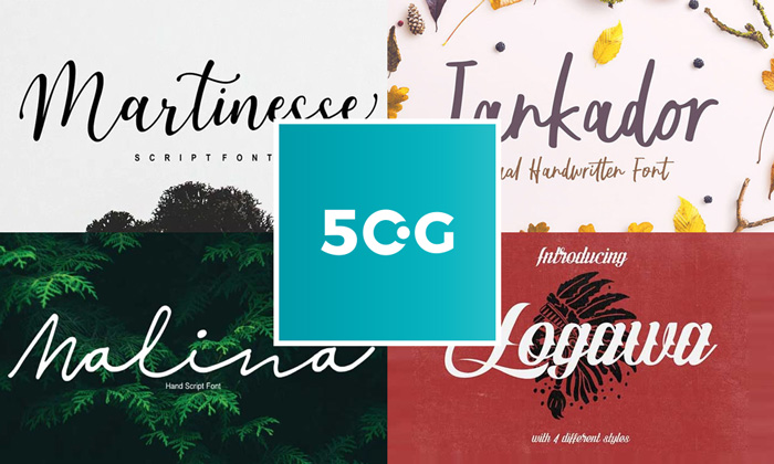Best-50-New-Fonts-Collection-For-2018